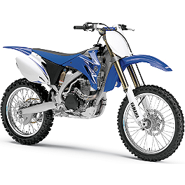 Yamaha Genuine OEM Plastic Kit - Blue - 2010 Yamaha YZ450F Yamaha Genuine OEM Off-Road Rear Wheel - 2.15 x 19 Silver