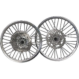 Yamaha Genuine OEM Off-Road Rear Wheel - 2.15 x 19 Silver - 2010 Yamaha YZ450F Yamaha Genuine OEM Off-Road Rear Wheel - 2.15 x 19 Silver