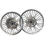 Yamaha Genuine OEM Off-Road Rear Wheel - 2.15 x 19 Silver - Dirt Bike Wheels
