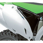 Kawasaki Genuine Accessories Right Side Panel - Black - Kawasaki OEM Parts Dirt Bike Dirt Bike Parts