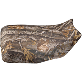 Yamaha Genuine OEM Realtree AP HD Camouflage Seat Cover - 2009 Yamaha GRIZZLY 450 4X4 Quad Works Standard Seat Cover - Black