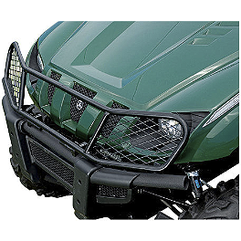 Yamaha Genuine OEM Front Brush Guard - 2012 Yamaha GRIZZLY 350 4X4 Yamaha Genuine OEM Engine Skid Plate / Front Bash Plate Combo