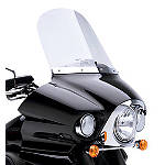 "Kawasaki Genuine Accessories 18"" Windshield - Clear - Kawasaki OEM Parts Cruiser Wind Shield and Accessories"