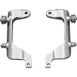 Yamaha Star Accessories Quick Release Windshield Mounts - 2011 Yamaha V Star 1300 - XVS13 Yamaha Star Accessories Tall Quick Release Windshield