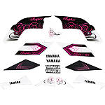 GYTR Graphic Kit - Pink Swirl - Dirt Bike Graphic Kits