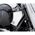 Suzuki Genuine Accessories Left Frame Cover - Chrome - Cruiser Frame Covers