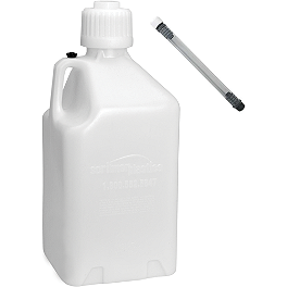 Scribner 5 Gallon Jug With Filler Hose - 2010 Can-Am DS450 DWT .160 Aluminum Black Label Rear Wheel - 9X8 3B+5N