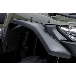 Suzuki Genuine Accessories Front Mud Guard - 2008 Suzuki KING QUAD 450AXi 4X4 Suzuki Genuine Accessories Warn Winch Mount