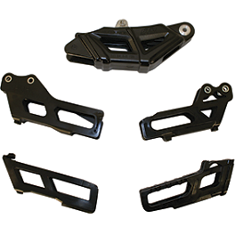 OEM Chain Guide Block - 2001 KTM 400EXC KTM Excel Pro Series Complete Wheel Black/Orange 1.60X21