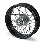 KTM Rear Wheel Complete Black 4.25X17 - KTM OEM Parts Dirt Bike Complete Wheels