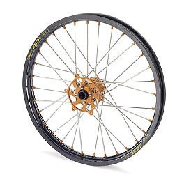 KTM Excel Pro Series Complete Wheel Black/Orange 1.60X21 - 2001 KTM 380MXC KTM Rear Wheel Complete Black 2.15X18