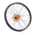 KTM Excel Pro Series Complete Wheel Black/Orange 1.60X21 - Excel Dirt Bike Complete Wheels