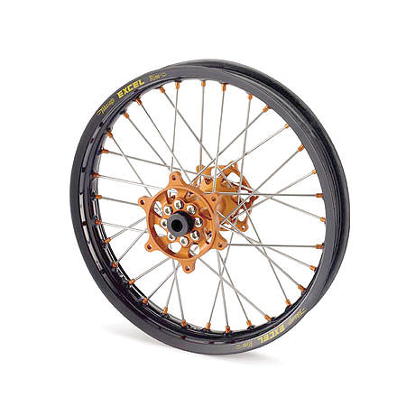 KTM Excel Pro Series Complete Wheel Black/Orange 2.15X18 - Main