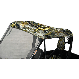 Yamaha Genuine OEM Soft Sun Top - Realtree - 2009 Yamaha RHINO 700 Classic Accessories UTV Seat Covers - Camo