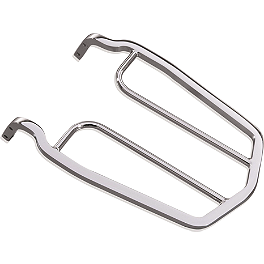 Yamaha Star Accessories Rear Luggage Rack - 2008 Yamaha V Star 650 Silverado - XVS65AT Yamaha Star Accessories Rear Fender Rack