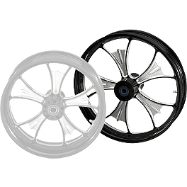 Yamaha Star Accessories Raider Custom Midnight Front Wheel - 21 x 3.5 - Yamaha Star Accessories Custom Cover