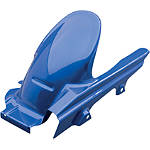 GYTR Rear Fender With Chain Guard - Blue - Dirt Bike Fenders
