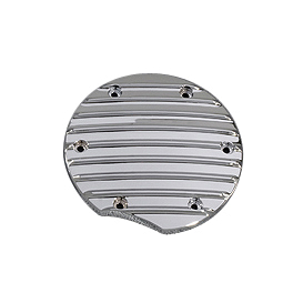 Yamaha Star Accessories Custom Chrome Clutch Cover Insert - 2010 Yamaha V Star 950 Tourer - XVS95CT Yamaha Star Accessories Classic Deluxe Saddlebags - Plain