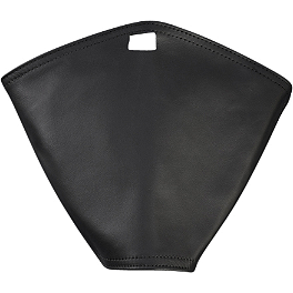 Yamaha Star Accessories Mini Tank Cover - 2009 Yamaha V Star 950 - XVS95 Yamaha Star Accessories Classic Deluxe Saddlebags - Plain