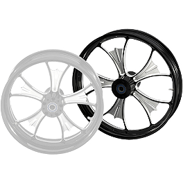 Yamaha Star Accessories Custom Midnight Front Wheel - 18 x 3.5 - Yamaha Star Accessories Custom Midnight Rear Wheel - 18 x 5.5