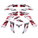 GYTR Graphic Kit - Red Retro - Yamaha GYTR ATV Products