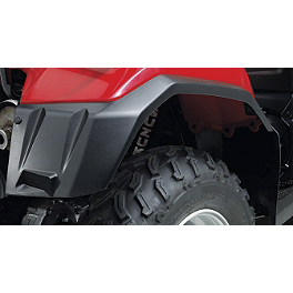 Suzuki Genuine Accessories Rear Mud Guard - Suzuki Genuine Accessories Graphic Kit - Red / Grey