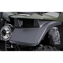 Suzuki Genuine Accessories Rear Mud Guard - 2008 Suzuki KING QUAD 750AXi 4X4 Suzuki Genuine Accessories Warn Winch Mount