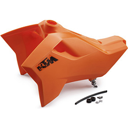 KTM OEM 13 Liter Fuel Tank - 2009 KTM 450XCW KTM Excel Pro Series Complete Wheel Black/Orange 1.60X21