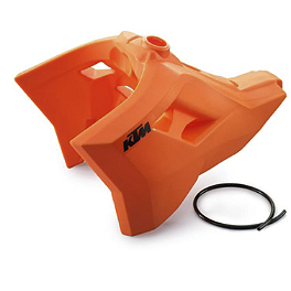 KTM Fuel Tank 21 Liters Orange - 2010 KTM 400XCW KTM Excel Pro Series Complete Wheel Black/Orange 1.60X21