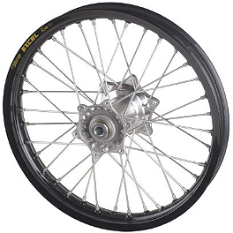 KTM Rear Wheel Complete Black 2.15X18 - 1996 KTM 360SX KTM Rear Wheel Complete Black 2.15X18