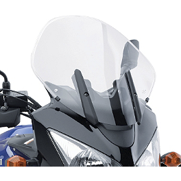 Suzuki Genuine Accessories Sport Touring Windshield - Light Smoke - 2008 Suzuki DL650 - V-Strom ABS Moose Adventure Windscreen