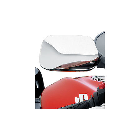 Suzuki Genuine Accessories Mirror Covers - Chrome - Main