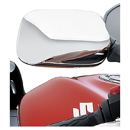 Suzuki Genuine Accessories Mirror Covers - Chrome - 2003 Suzuki GSX1300R - Hayabusa Suzuki Genuine Accessories Tire Valve Caps - Hayabusa Logo