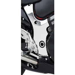 Suzuki Genuine Accessories Frame Cover - Chrome - Yana Shiki Clutch Cover - Polished