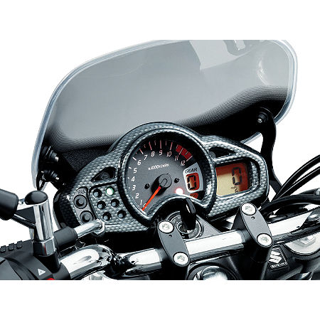 Suzuki Genuine Accessories Meter Cover - Carbon Look - Main