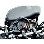 Suzuki Genuine Accessories Meter Cover - Carbon Look -  Motorcycle Dash and Gauges
