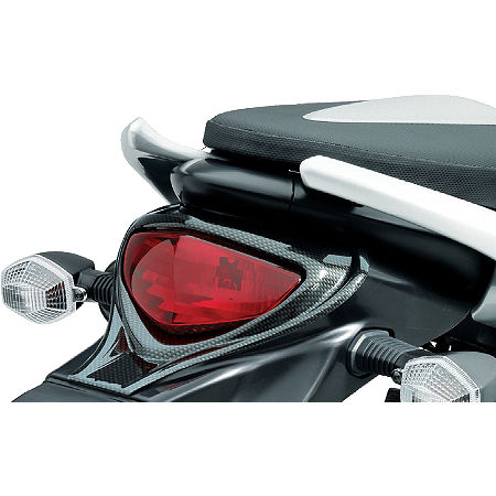 Suzuki Genuine Accessories Tail Light Covers - Carbon Look - Main