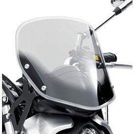 Suzuki Genuine Accessories Flyscreen - Light Smoke - Joker Machine Front Master Cylinder Cover - Smooth