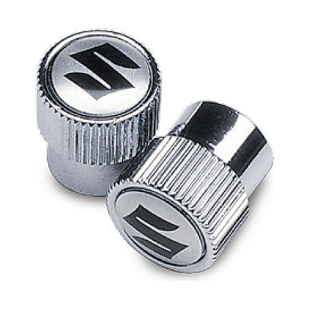 Suzuki Genuine Accessories Tire Valve Caps - Suzuki Logo - Main