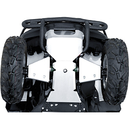 Suzuki Genuine Accessories Front Shroud Skid Plate - Suzuki Genuine Accessories Two Piece Skid Plate