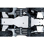 Suzuki Genuine Accessories Two Piece Skid Plate - Suzuki OEM Parts Utility ATV Body Parts and Accessories