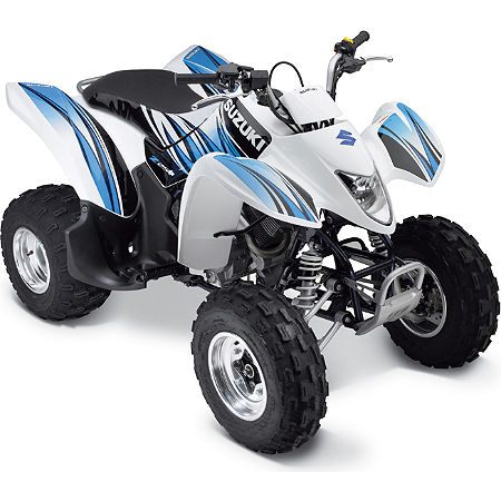 Suzuki Genuine Accessories Graphic Kit - Blue / White - Main
