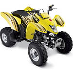 Suzuki Genuine Accessories Graphic Kit - Yellow / Red - ATV Graphics and Decals