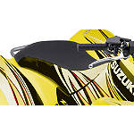 Suzuki Genuine Accessories Seat Cover - Yellow / Red - ATV Graphics and Decals