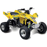 Suzuki Genuine Accessories Tribal Graphic Kit - Yellow - ATV Graphics and Decals
