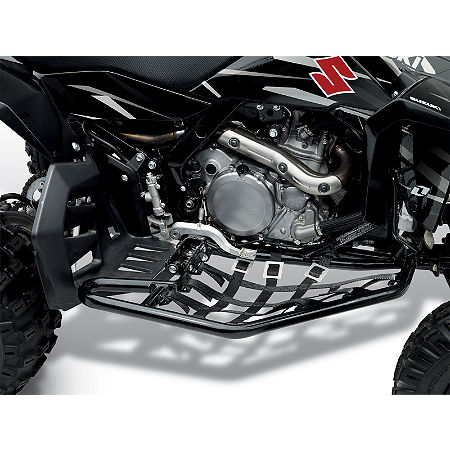 Suzuki Genuine Accessories Nerf Bars - Black - Main