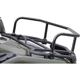 Suzuki Genuine Accessories Front Rack Extension - Black Smooth - 2010 Suzuki KING QUAD 500AXi 4X4 POWER STEERING Suzuki Genuine Accessories Warn Winch Mount