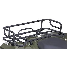Suzuki Genuine Accessories Rear Rack Extension - Black Wrinkle - 2010 Suzuki KING QUAD 500AXi 4X4 POWER STEERING Moose Cordura Seat Cover