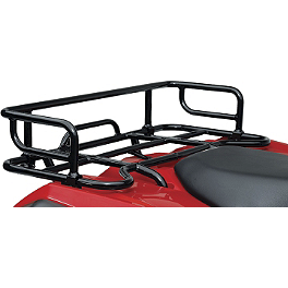 Suzuki Genuine Accessories Rear Rack Extension - Black Smooth - 2012 Suzuki KING QUAD 400ASi 4X4 AUTO Suzuki Genuine Accessories Warn Winch Mount