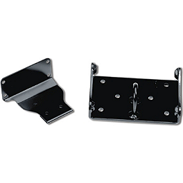 Suzuki Genuine Accessories Warn Winch Mount - 2008 Suzuki KING QUAD 450AXi 4X4 Warn Winch Mounting System